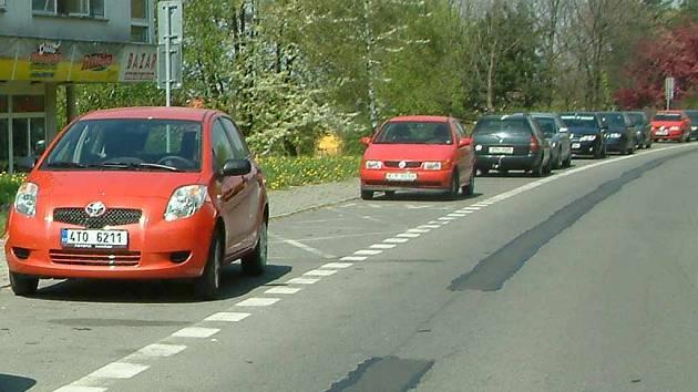 Studie bude řešit i možnost výstavby nových parkovacích míst.