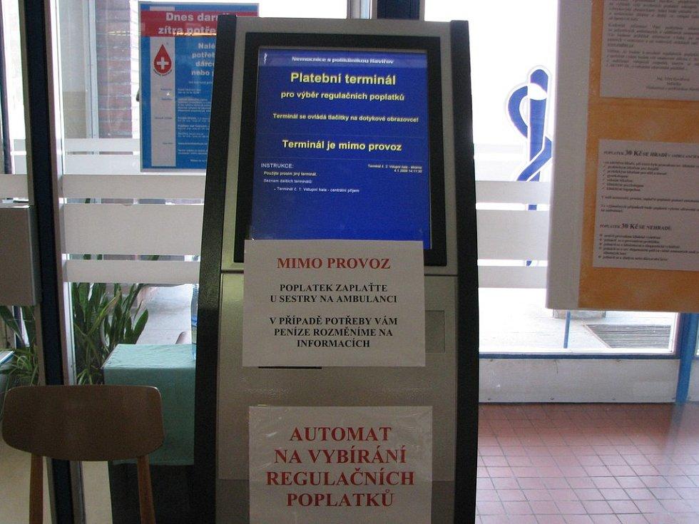 Automaty patrně nejsou příliš spolehlivé.