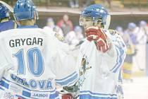 Bez Petra Grygara, ale i gólmana Dušana Šafránka se nyní budou muset obejít orlovští hokejisté.