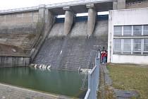 Hráz Žermanické přehrady