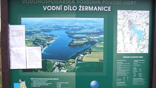O prohlídku Žermanické přehrady byl velký zájem