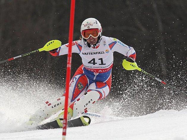 Eva Kurfürstová se stala posedmé mistryní republiky ve slalomu.