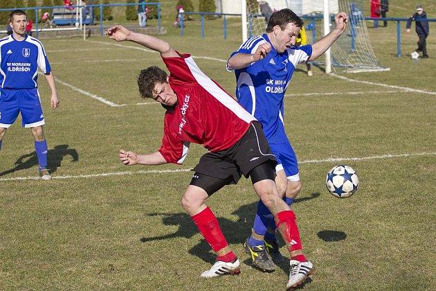 Dětmarovičtí fotbalisté předvedli nezlomnou vůli po vítězství.