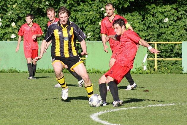 Český Těšín sehrál v Krnově vyrovnanou partii s lídrem soutěže.