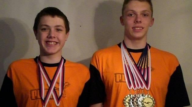 Starší Alexandr i mladší Richard mají medaile z MČR.