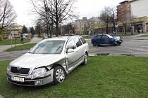 Nehoda zaviněná nedáním přednosti v jízdě