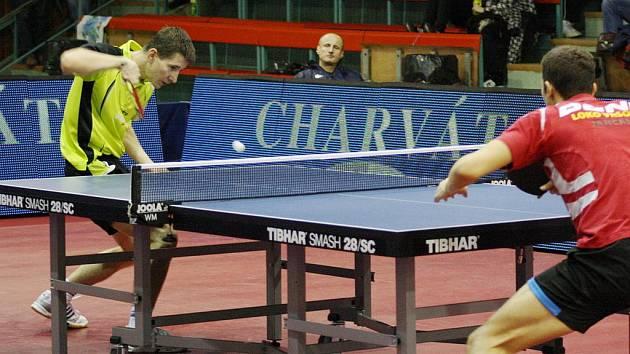 Havířovští stolní tenisté vyřadili ve čtvrtfinále play off Ostravu 2:0 na zápasy. Teď je čekají Vršovice.