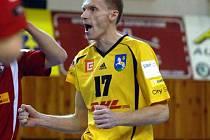 V týmu DHL se v pondělním utkání na postu libera poprvé představil Petr Chromý.