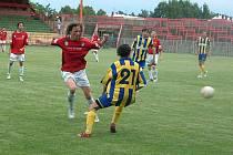 Hráči MFK Havířov (červené dresy) jsou v plné připravě na divizní sezonu.