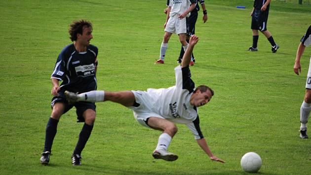Fotbalisté Horní Suché prohráli těsně v Raškovicích, ale měli spíše vyhrát.
