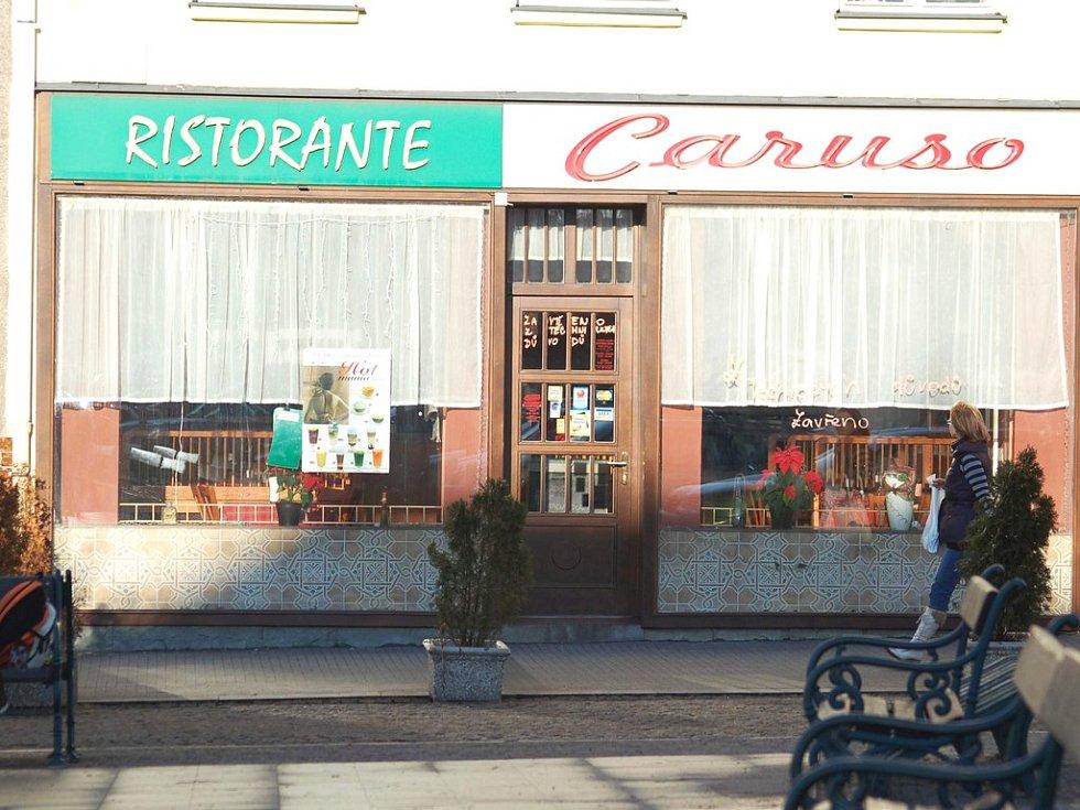Restaurace Caruso je již několik dní zavřena.