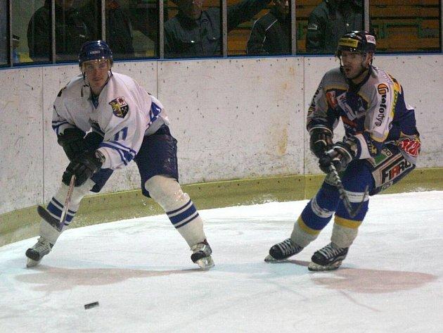 Hokejisté Orlové v domácím prostředí nestačili na vedoucí Hodonín, kterému podlehli o čtyři branky.