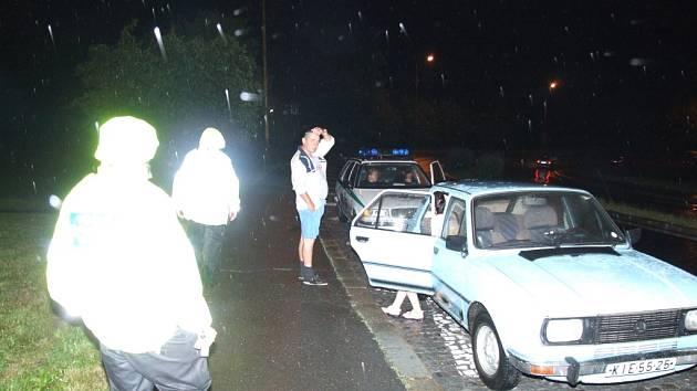 Opilý řidič nadýchal 3,7 promile