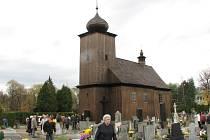 Slavnost v albrechtickém kostele