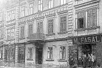 Obchod Moritze Fasala na Saské kupě.