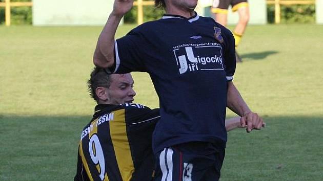 Těšín sehrál v přípravě další utkání.