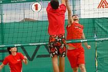 V Cieszyně se rozjíždí letní seriál turnajů v beachvolejbale.