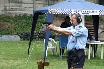 Střelecká soutěž strážníků, policistů a vězeňských dozorců