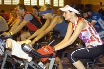 Spinning maraton v Karviné