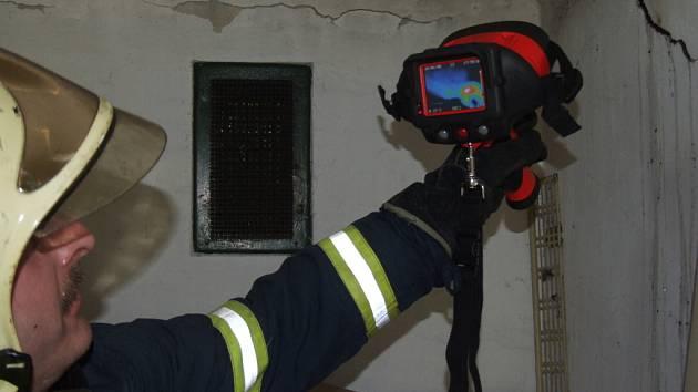 Termokameru využívají také havířovští hasiči