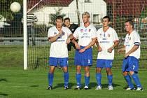 Albrechtičtí fotbalisté dokázali udržet venkovní neporazitelnost.