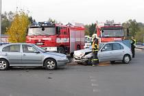 Nehoda v Šenově.