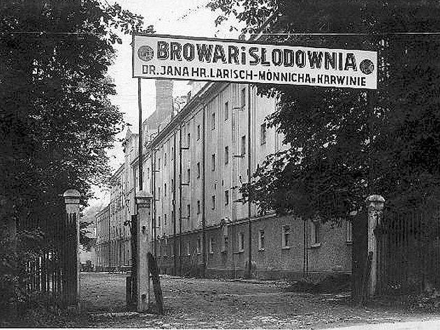 Dnes již neexistující pivovar v Karviné-Dolech, který nahradil Městský pivovar ve Fryštátě.