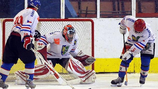 V tomto týdnu se hrají hokejové zápasy nejen v Havířově, ale také v Karviné.