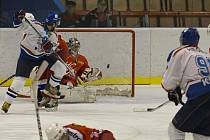Vítězný gól dali Karvinští na ledě Poruby až dvanáct sekund před koncem.
