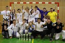 Mimořádně úspěšní byli taekwondisté Karviné a Havířova na Mistrovství Moravy ve Frýdku-Místku. Vyhráli!