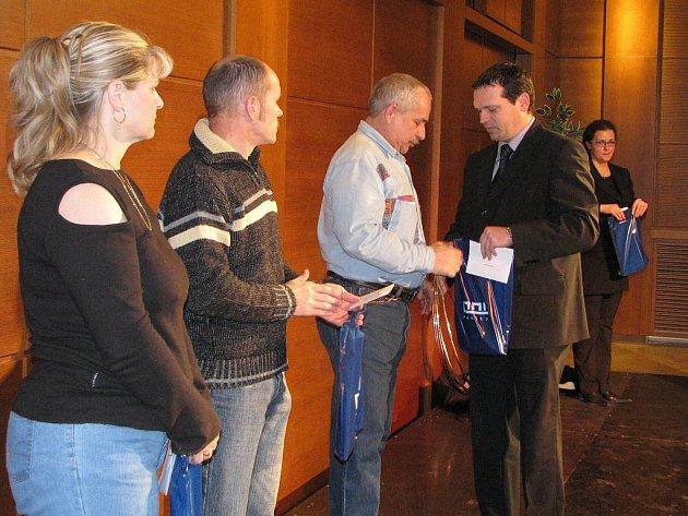 Ocenění dárců krve v Havířově
