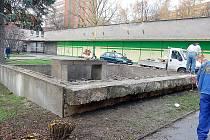 Opravované dílo v Orlové