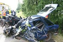Tragická nehoda v Dolní Lutyni
