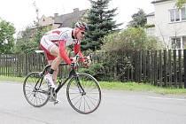 Počvrté za sebou vyhrál Petrovickou časovku Radek Blahut z CK Myčka Blahut.