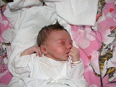 Vanessa Ivanyszynová, 23. prosince 2008, Havířov, váha: 3,67 kg, míra: 51 cm