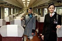 Modernizované vlaky Českých drah a palubní personál