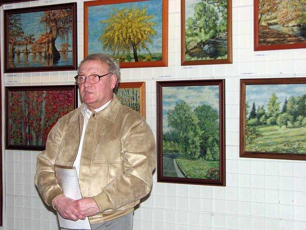 Josef Čmiel se ve svých dílech zaměřuje především na Havířov a jeho blízké okolí.