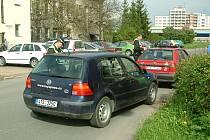 Strážníci při řešení překročení rychlosti