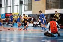 Florbalisté Havířova v derby s Vítkovicemi prohráli.