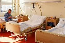 Pavilon bohumínské nemocnice, ve kterém sídlí hned 2 oddělení, byl letos opraven za 12 milionů korun.