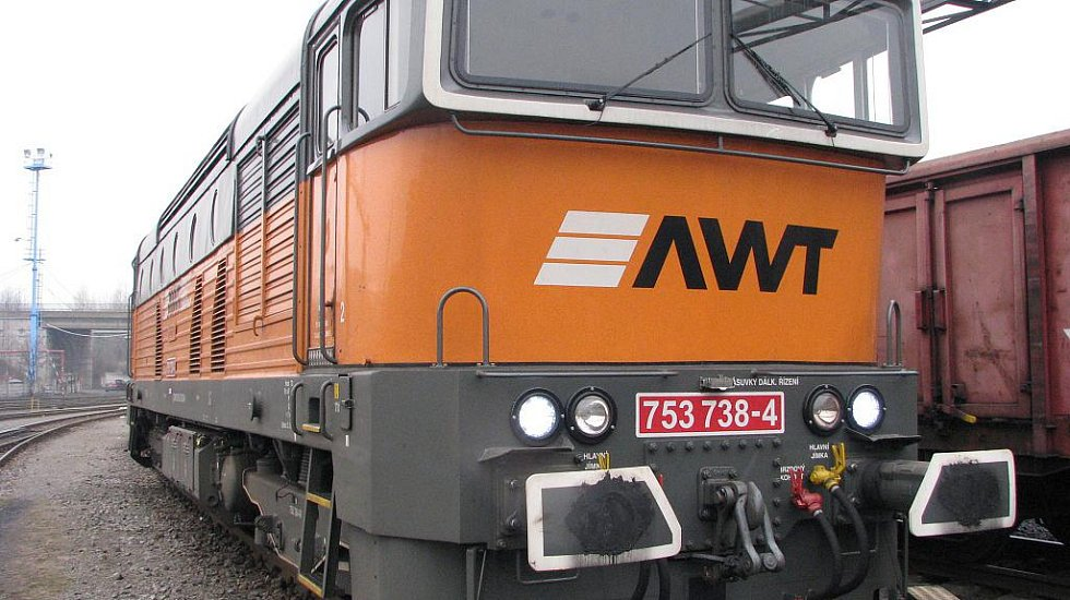 Dieselová lokomotiva řady 753 ve službách společnosti AWT