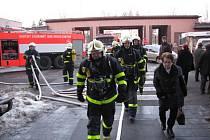 Požár v karvinské nemocnici způsobila nedbalost