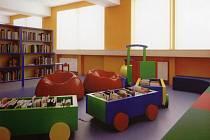 Takto by mělo vypadat nové dětské oddělení městské knihovny