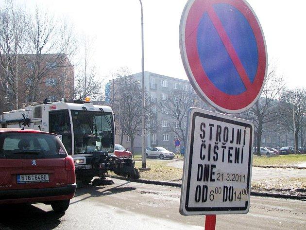 Strojní čištění ulic