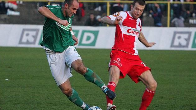 Fotbalisté Karviné si zahráli loni i s pražskou Slavií.
