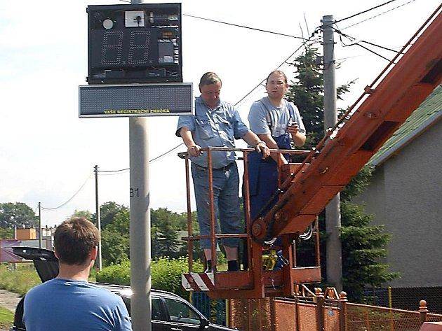 Nové radary v Bohumíně