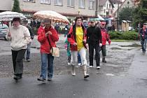 Tradiční celoobecní sportovně-společenská akce Bludovické šlápoty