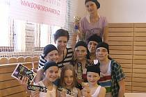 Tanečnice z havířovského Don Boska se představily na taneční soutěži Pohyb pro každého.