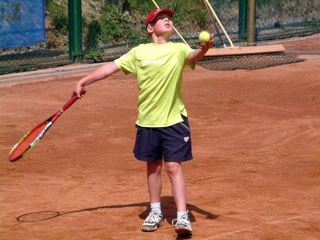 Mladší žáci jsou definitivně v lize. Jedničkou týmu je nadějný Josef Fajkus.