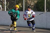 Karvinští hokejbalisté drží před posledním kolem základní části vstupenku do play off.